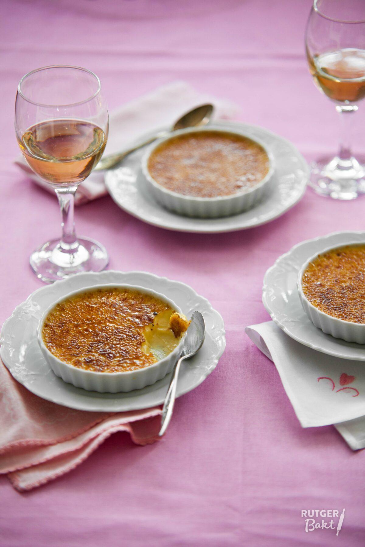 Crème brûlée – basisrecept