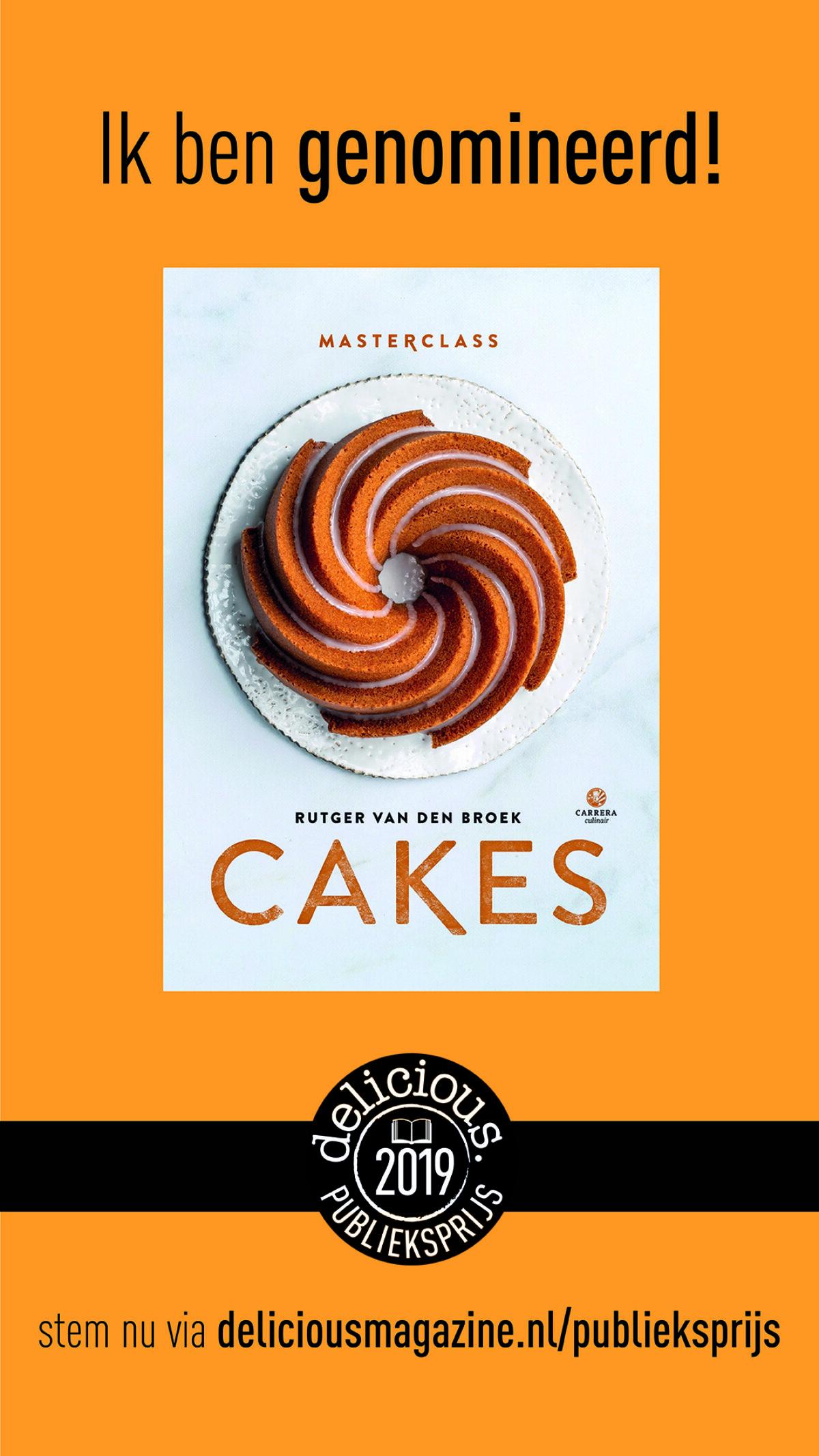 Masterclass Cakes is genomineerd!