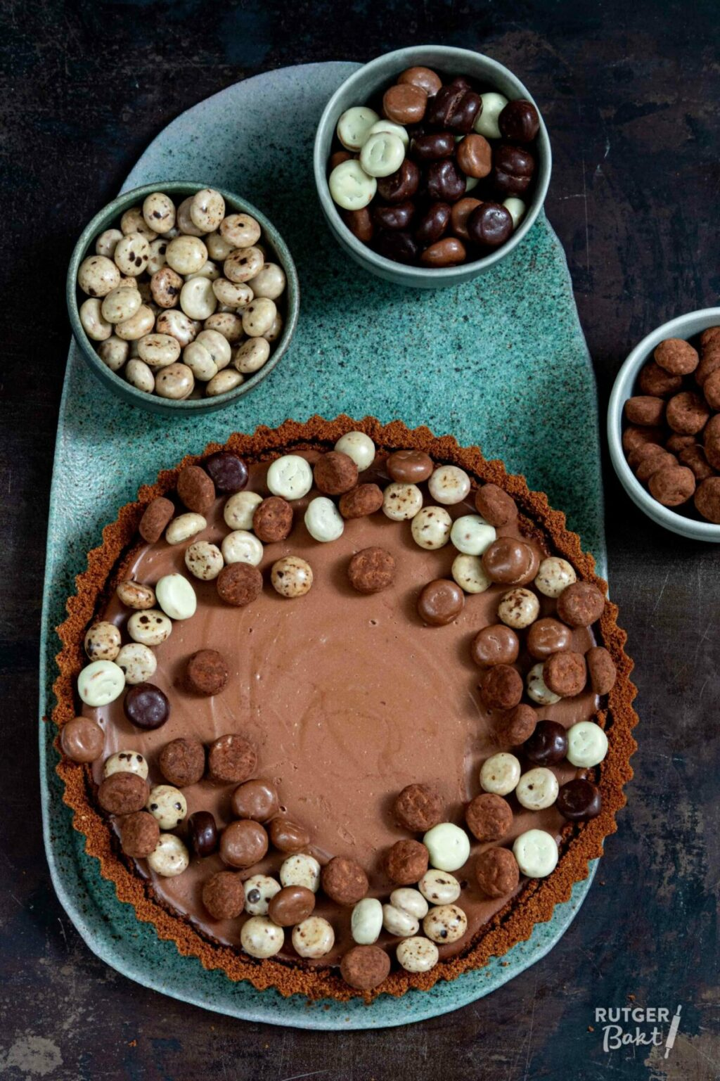Chocolade kruidnoten cheesecake – recept