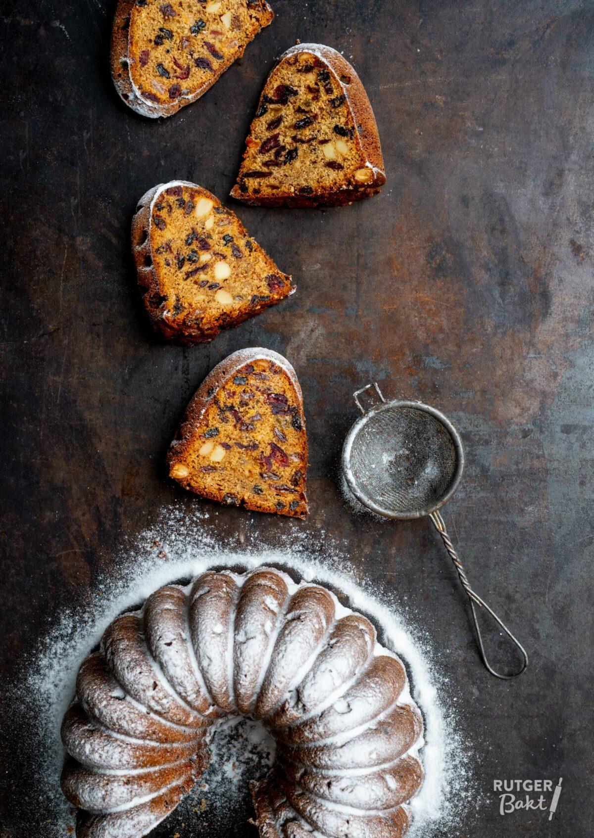 Engelse fruitcake – tulband recept