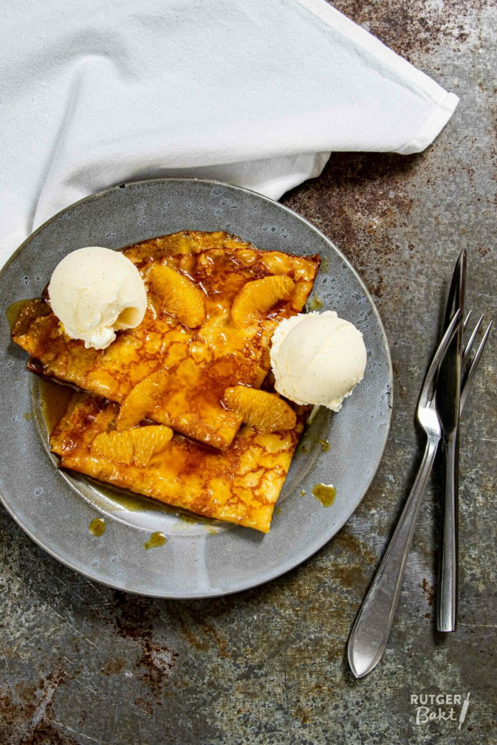 Crêpes suzette – recept