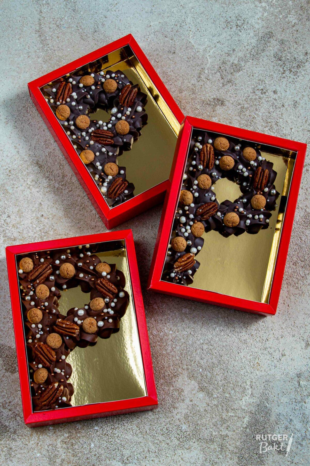 Gespoten chocoletters op 3 manieren