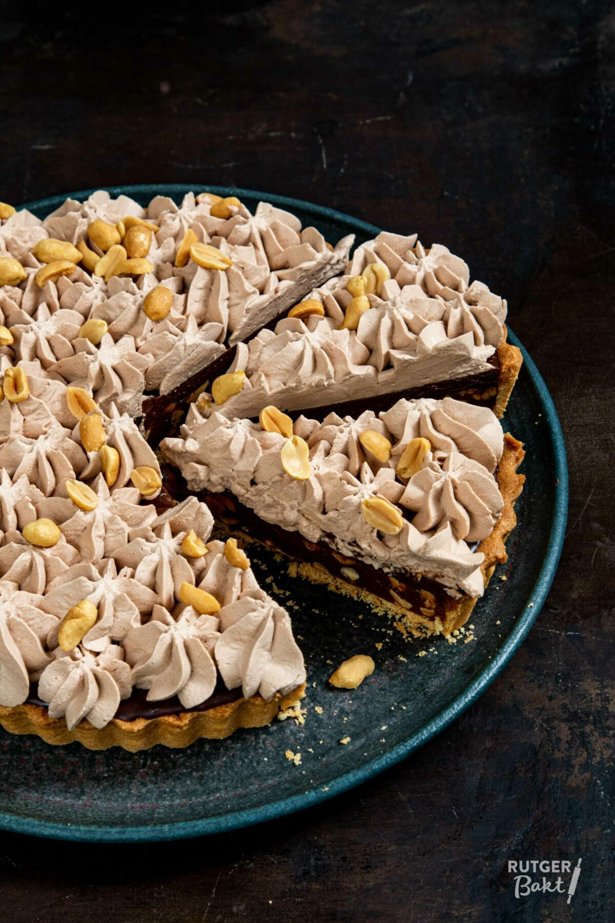 Pinda karamel taart – recept