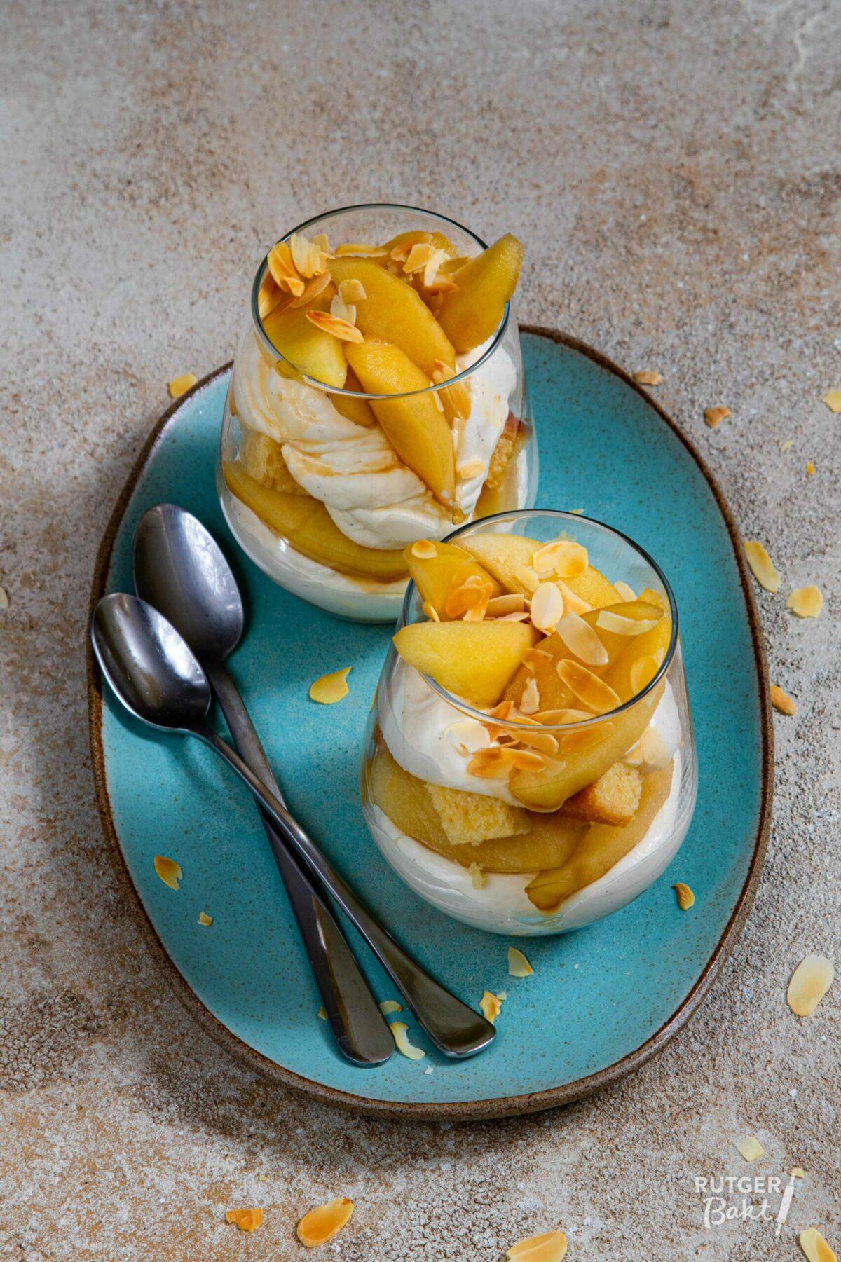 Trifle met sous-vide appel