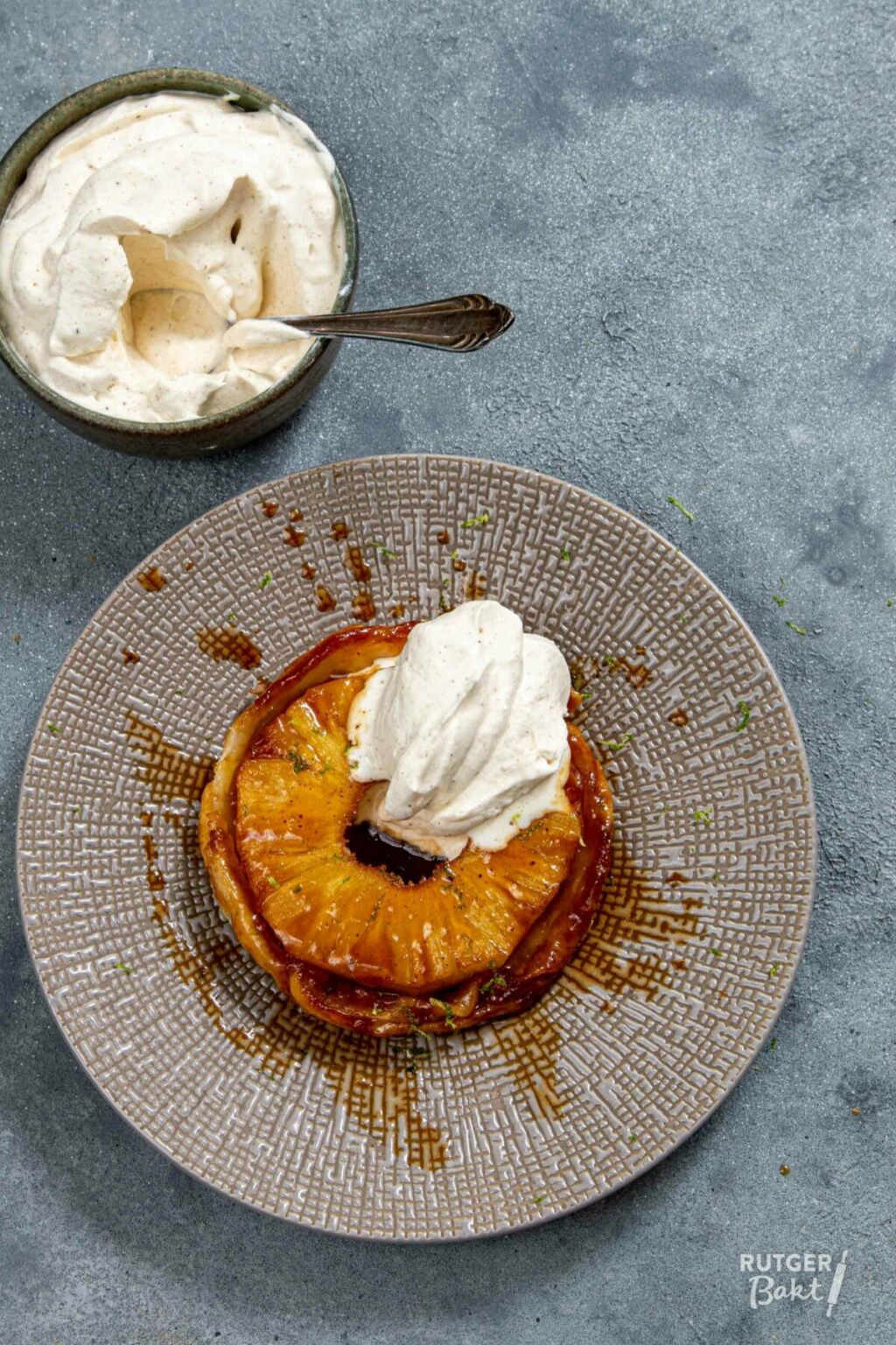 Ananas tarte tatin – recept