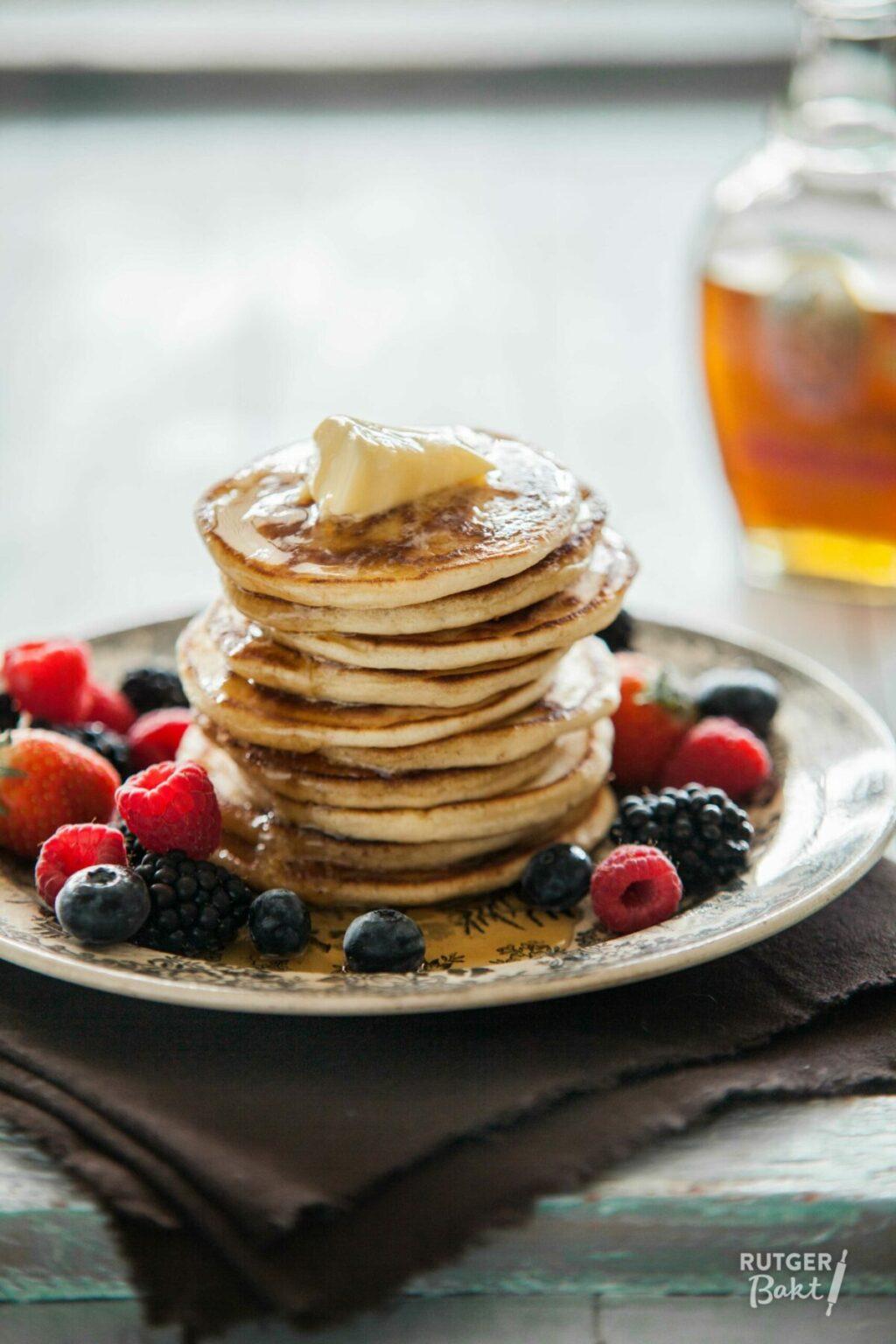 American pancakes bakken – recept
