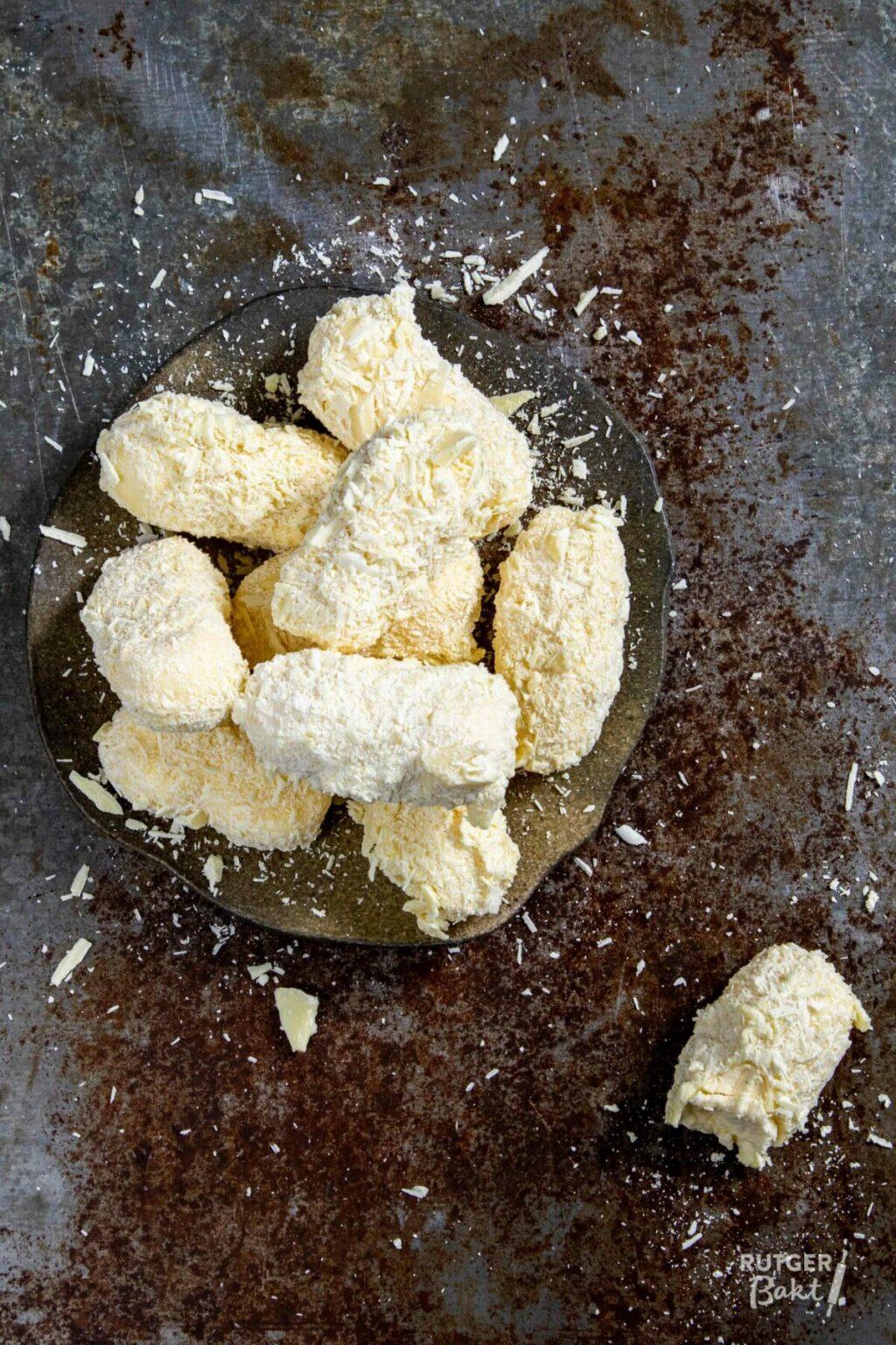Champagne truffels maken
