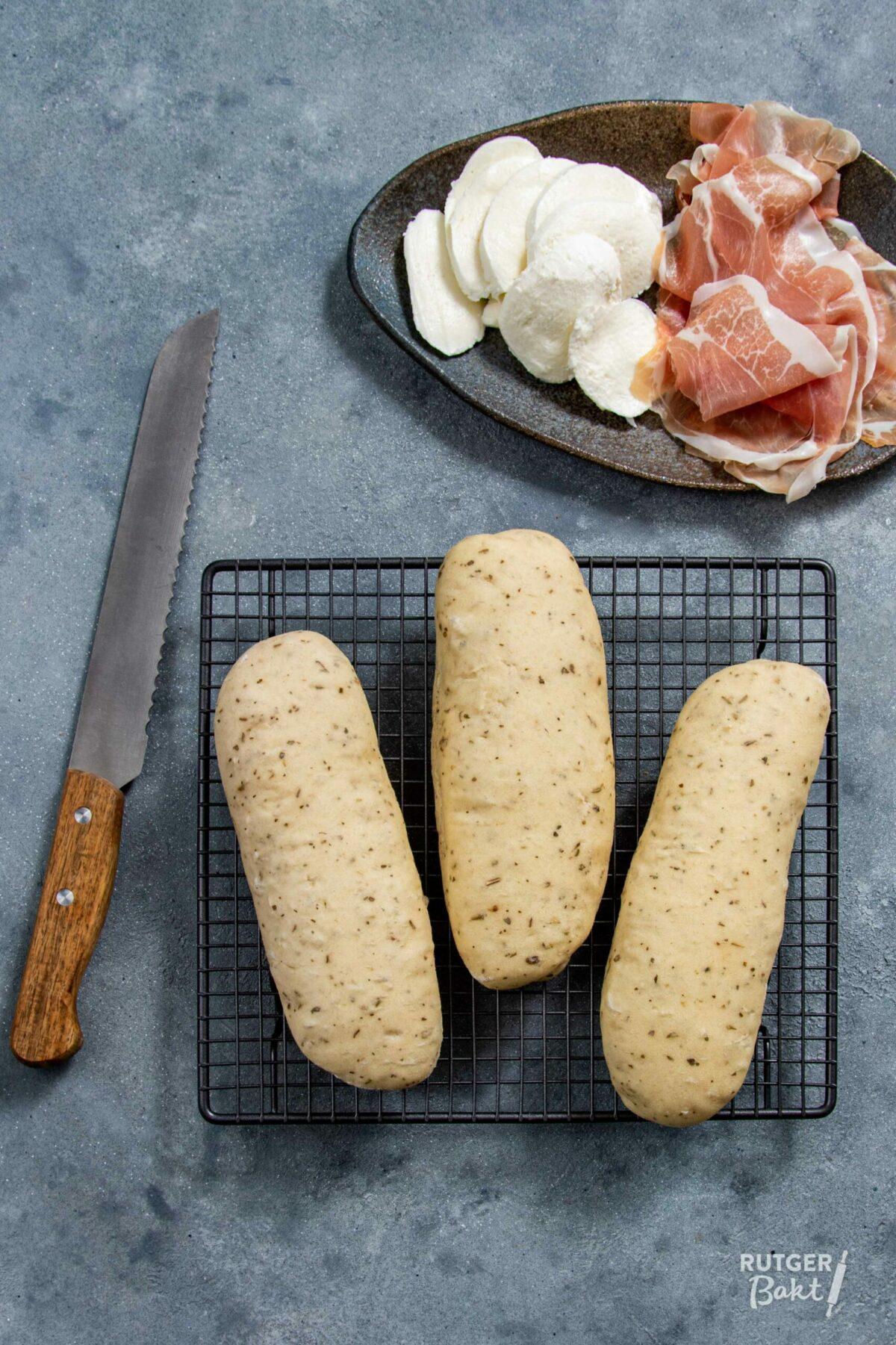 Zelf panini broodjes bakken