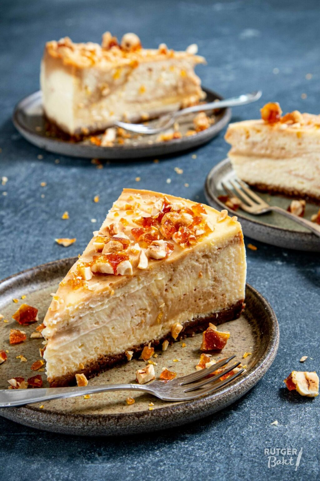 Karamel cheesecake