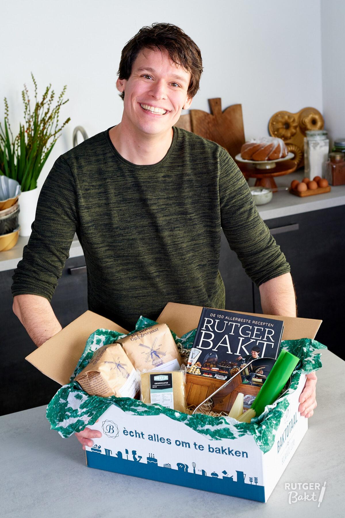 Het Rutger Bakt kerstpakket, hét cadeau voor bakliefhebbers!