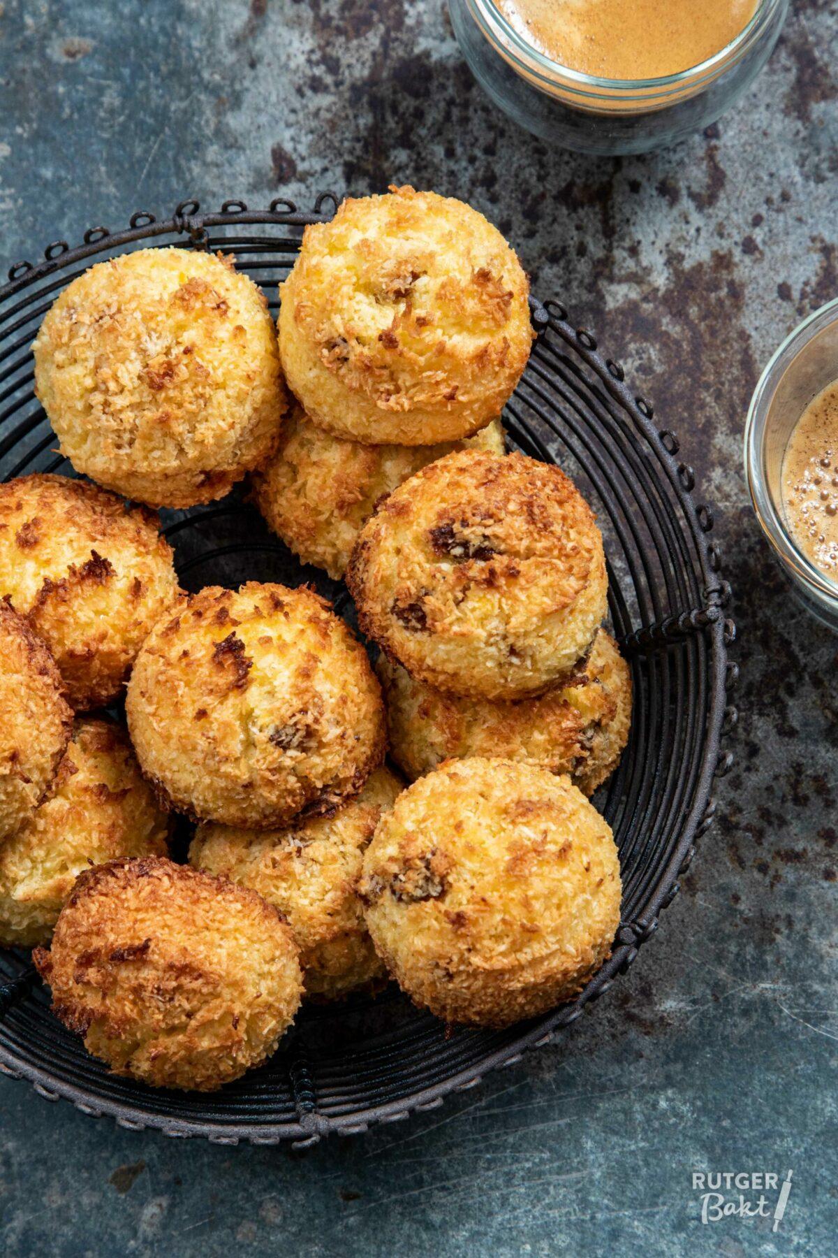Kokosbollen met bitterkoekjes – recept