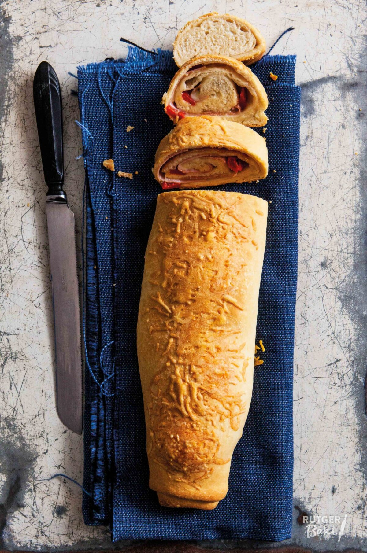 Stromboli – opgerold pizzabrood