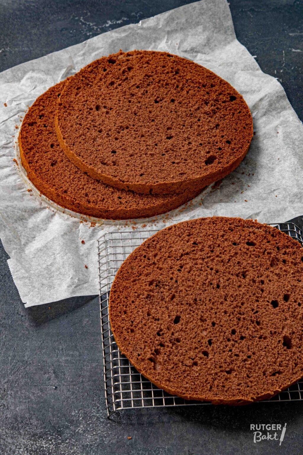 Chocolade biscuit – basisrecept