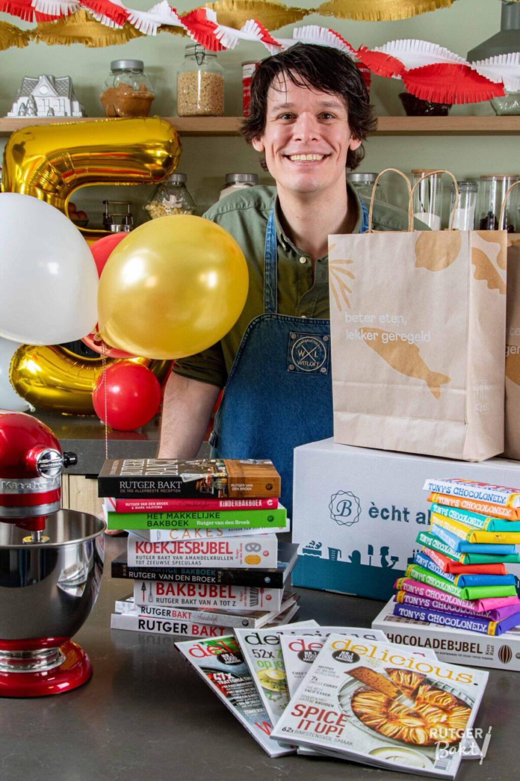 Feest: Rutgerbakt.nl bestaat 5 jaar!