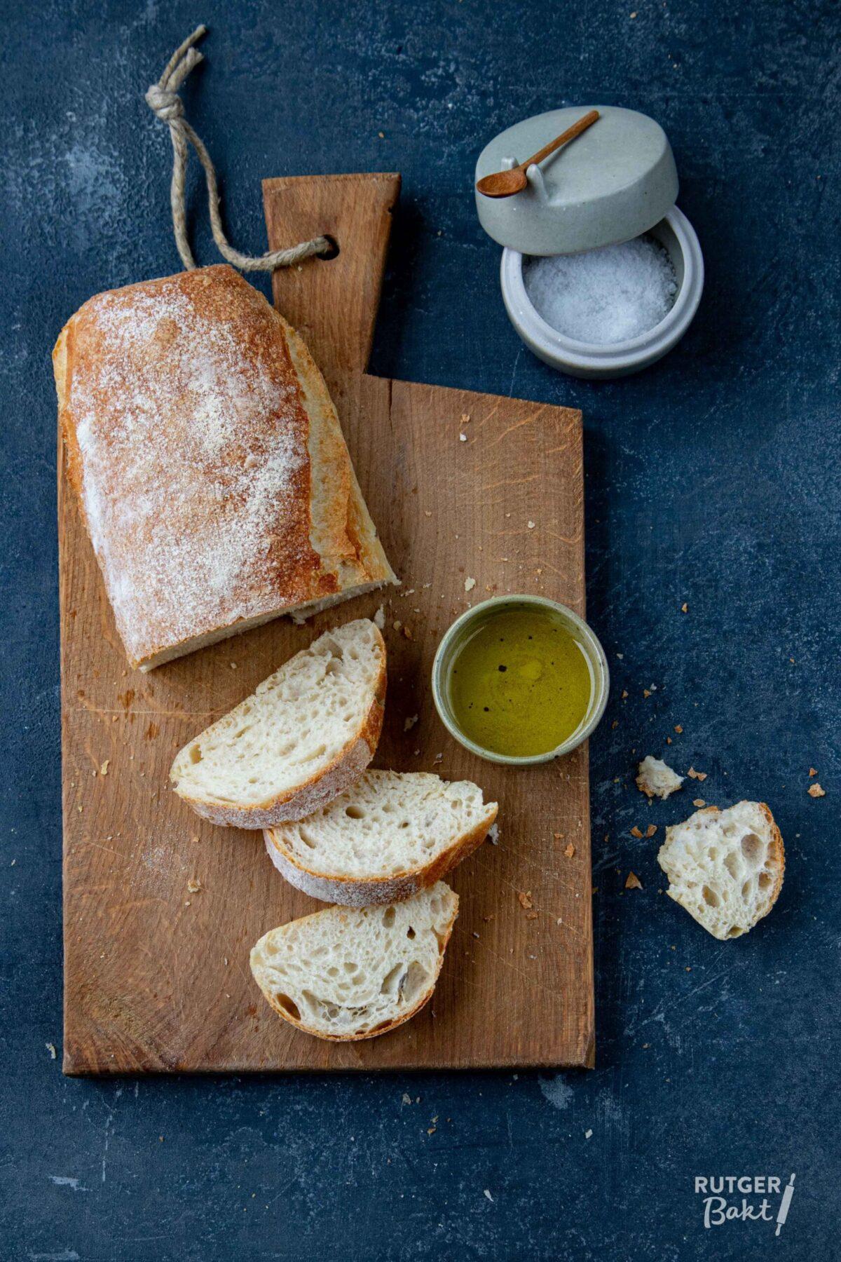 Ciabatta brood – recept