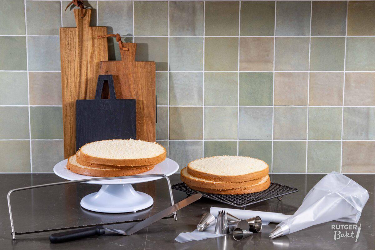 Biscuit taart
