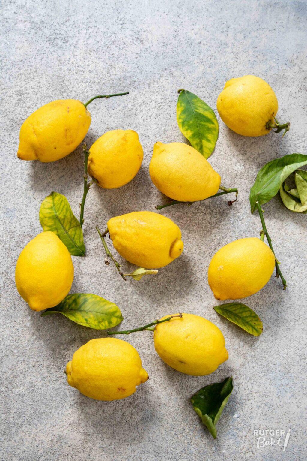 8 x lekkere recepten met citroen om te bakken